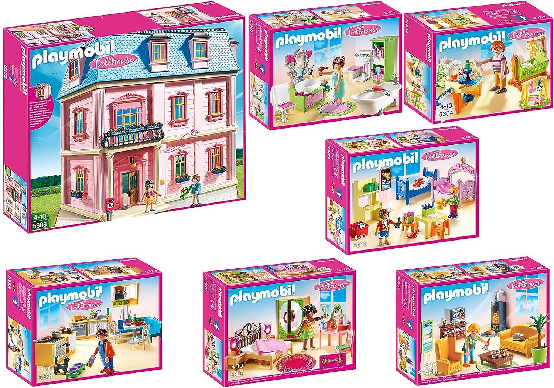 Das Beste Playmobil Puppenhaus Romantisches Puppenhaus 5303