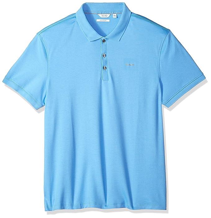 Calvin Klein Playera Tipo Polo Hombre  Amazon.com.mx  Ropa 494fe72f19fd8