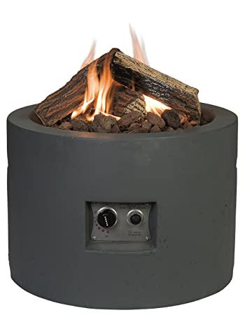 Happy Cocoon Round Gas Firepit Table
