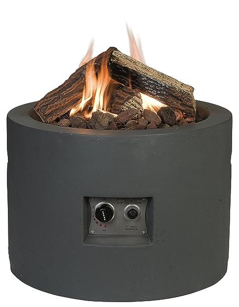 Happy Cocoon rund Gas Feuerstelle Tisch: Amazon.de: Garten