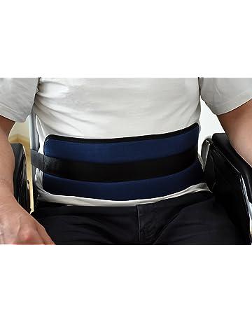 ORTONES | Cinturón de Sujecion Abdominal para silla de ruedas o sillón geriátrico,Extralargo Talla