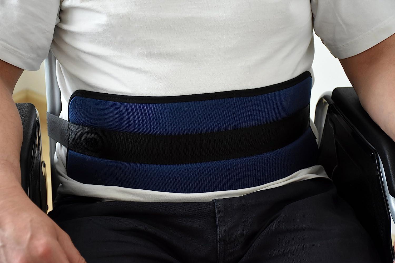 ORTONES | Cinturón de Sujecion Abdominal para silla de ruedas o sillón geriátrico,Extralargo Talla Unica.