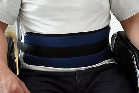 Cinturón de Sujecion Abdominal para silla de ruedas o sillón geriátrico,Extralargo Talla Unica