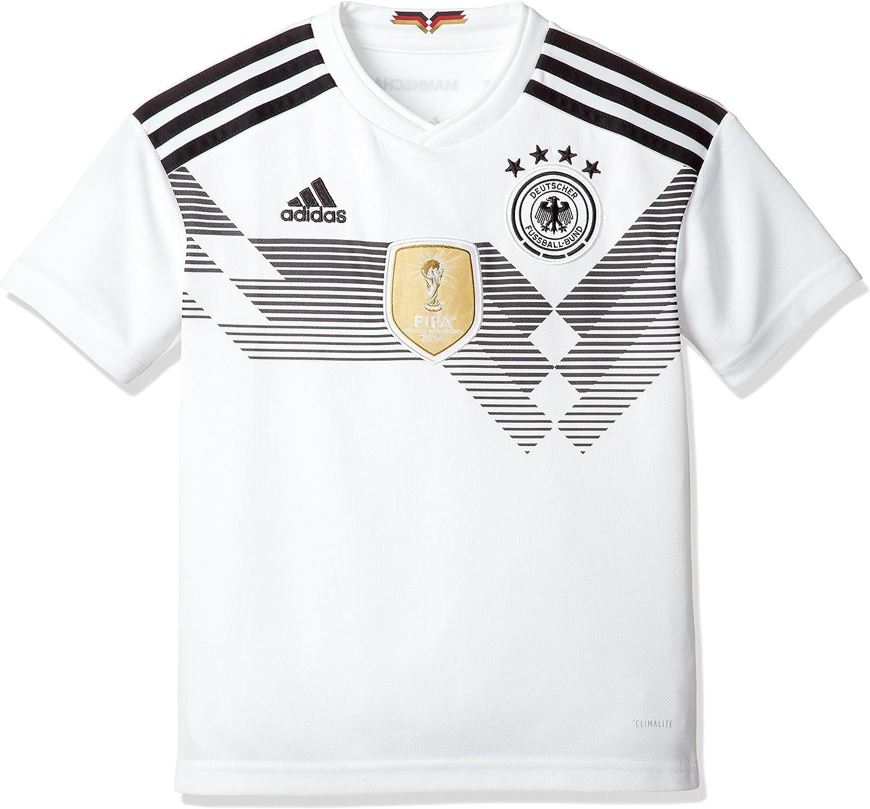 adidas DFB Home 2018 - Camiseta de Equipación Niños: Amazon.es: Ropa y accesorios