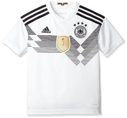 c339c8eb adidas D04268 Children's German National Team Football Home Jersey WM 2018  Football Shirt: Amazon.co.uk: Clothing
