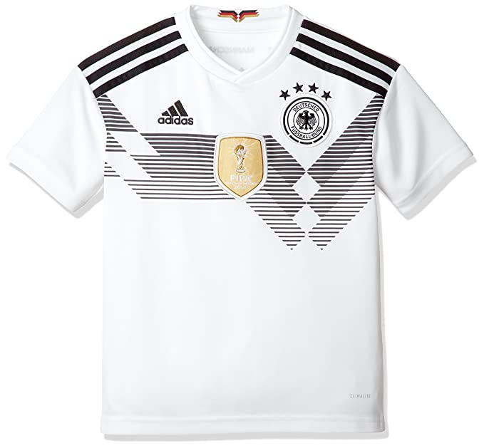 57e6d45aca92 Adidas Boys  Football Germany Home Jersey  Amazon.in  Clothing   Accessories