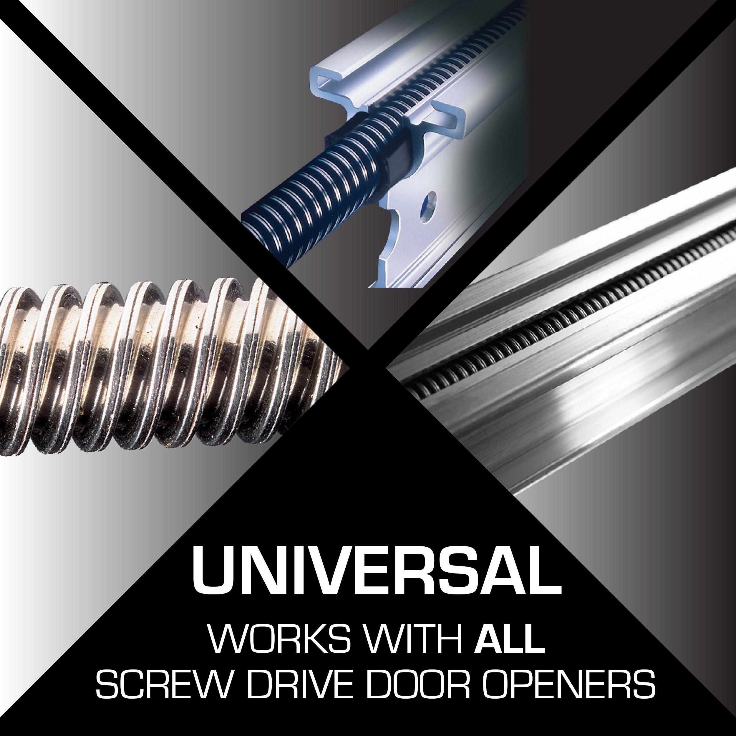 Genie Screw Drive Lube Reduce Garage Door Opener Noise