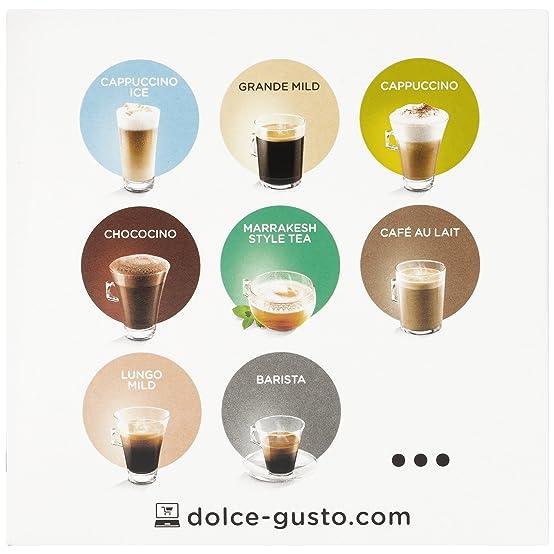 Amazon.com: Nescafe Dolce Gusto Espresso Bonka, 16 Capsules: Kitchen & Dining