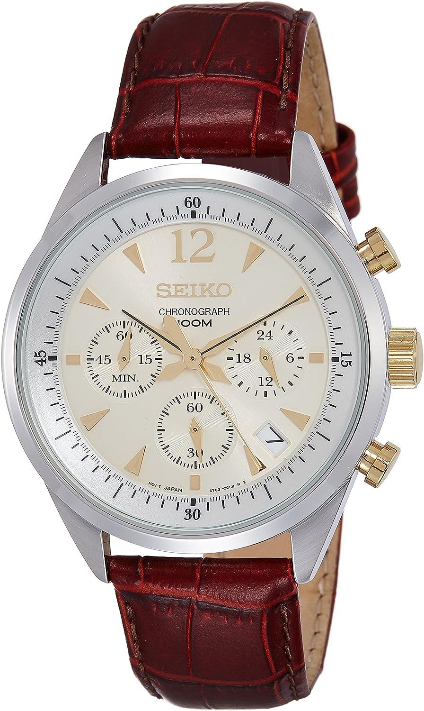 SEIKO SSB069P1,MEN S WATCH,CHRONOGRAPH,STAINLESS STEEL CASE,SSB069