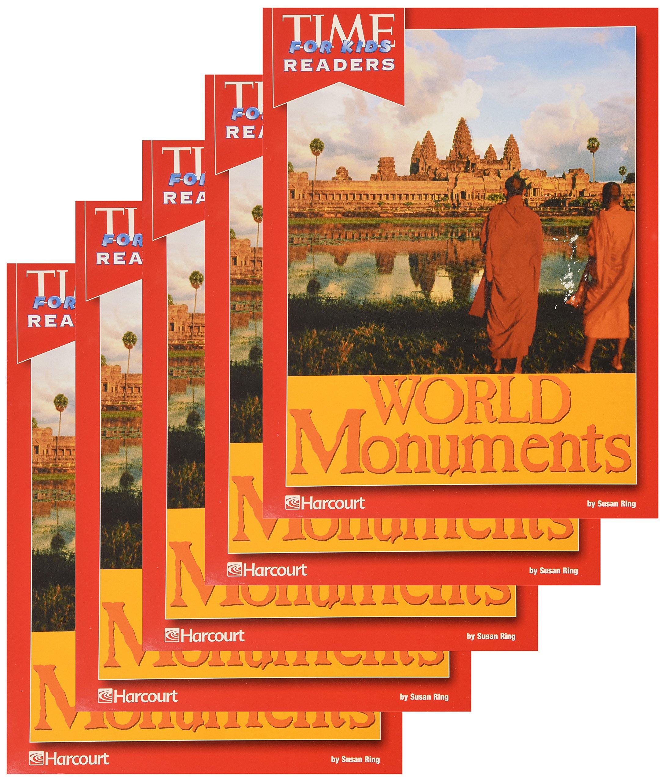 Read Online Harcourt School Publishers Horizons: 5 Pack Time for Kids Reader Grade 3 World Monuments pdf epub