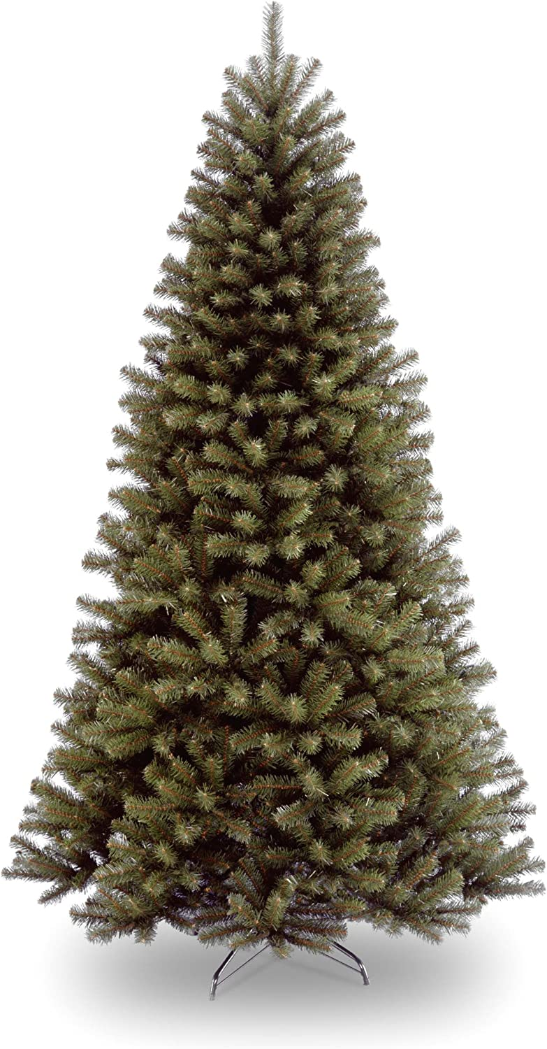 National Tree Company Artificial Christmas Tree | Includes Stand | North Valley Spruce - 7 ft
