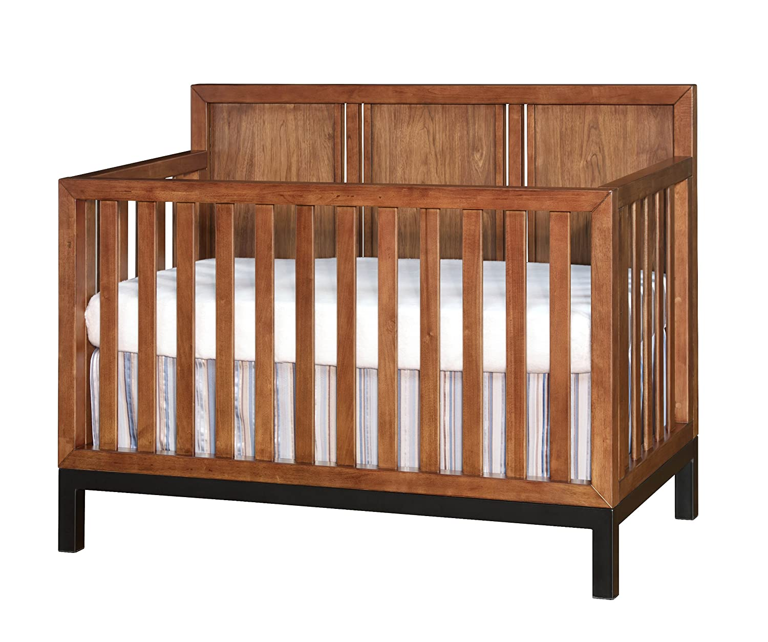 reviews chocolate crib in cribs westwood convertible design mist
