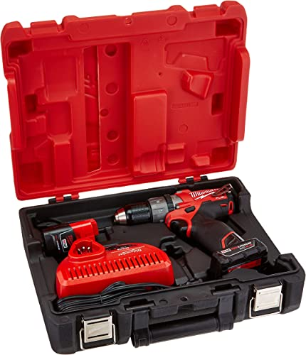 Milwaukee 2404-22 M12 Fuel 1 2 Hammer Drill Kit W 2 Bat