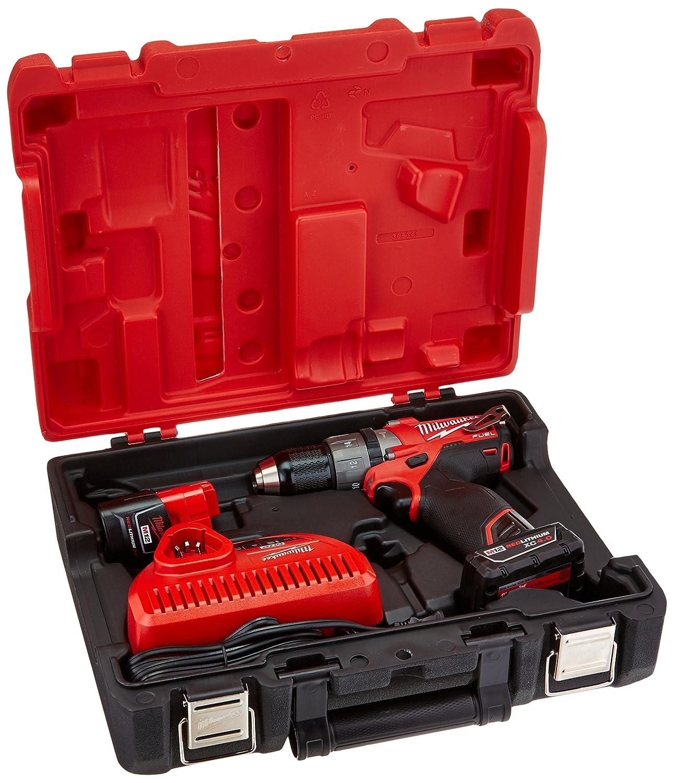Milwaukee 2404-22 M12 Fuel 1 2 Hammer Drill Kit W 2 Bat