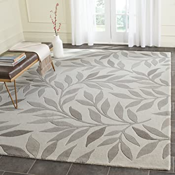 safavieh msr4624b9 martha stewart collection handmade wool area rug 9u0027 x 12 - Martha Stewart Rugs