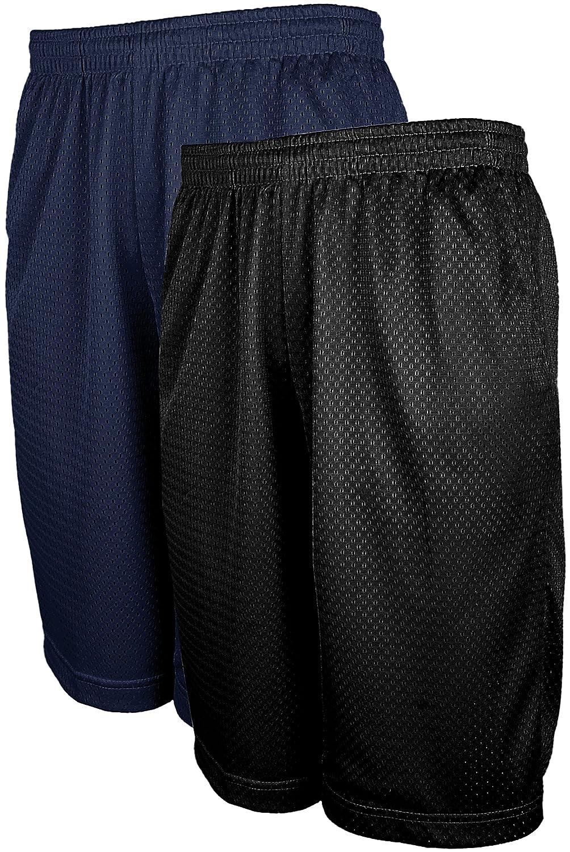 OLLIE ARNES Mens Mesh Active Running Basketball Training Shorts in Sets S-5XL OA-MESHSHORT