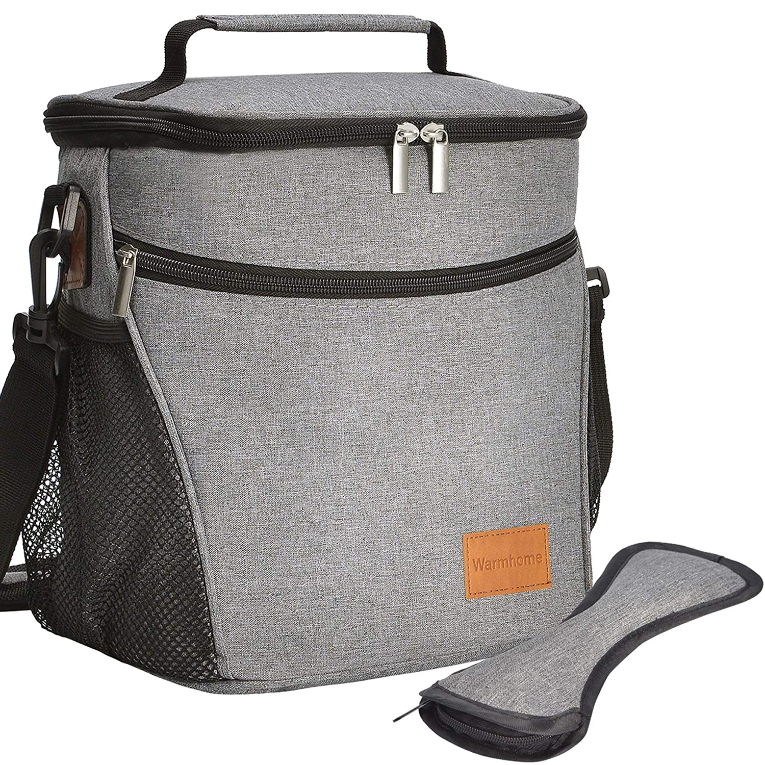 Lunch Bag Insulated Lunch Box for Men Women Large Lunch Tote Bag for Outdoor Travel Picnic