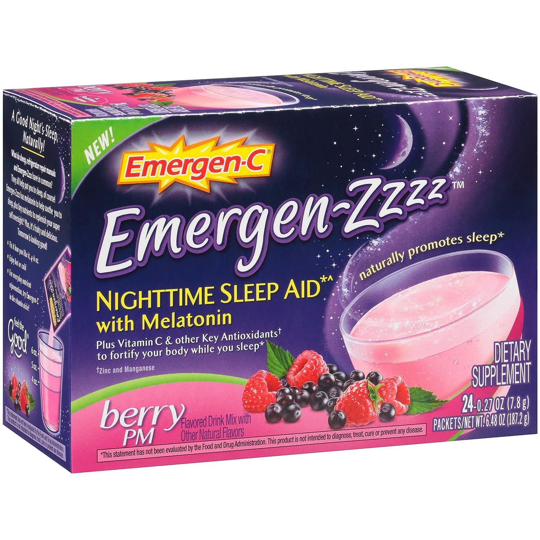 Alacer Emergen-C Nighttime Berry PM Sleep Aid, 24 Count: Amazon.es: Industria, empresas y ciencia