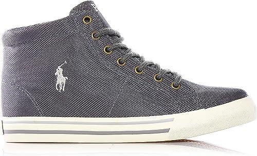 Polo Ralph Lauren - Zapatillas para niño Gris Gris 37: Amazon.es ...