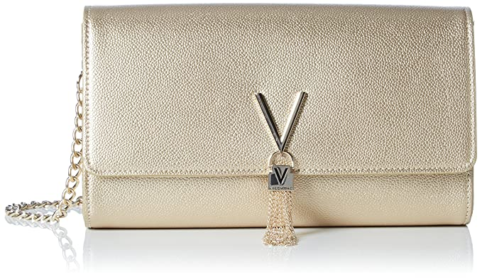 44840c276b Valentino by Mario Valentino Women s Divina Cross-Body Bag Gold (Oro ...