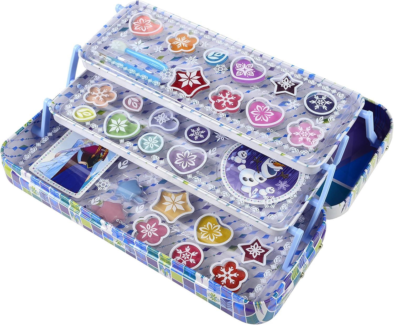 Disney Markwins 97016, Estuche Frozen con Maquillaje, Azul, pack ...