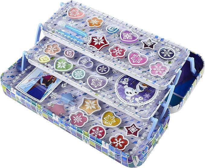 Disney Markwins 97016, Estuche Frozen con Maquillaje, Azul, pack de 2.: Amazon.es: Juguetes y juegos