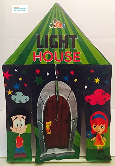 Awals Light House - The tent house with LED lights for kids & Buy Awals Light House - The tent house with LED lights for kids ...