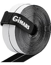 Gimars Vlecro Adesivo 20mm di Larghezza include Una Fascetta con Fibbia