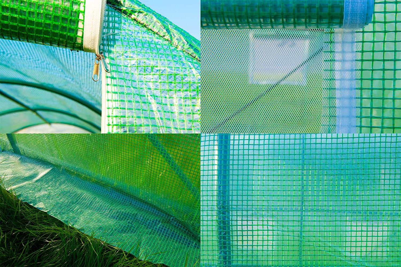 GOJOOASIS Greenhouse Walk-in Green Garden Hot House Outdoor Large ...
