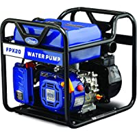 Ford 2 Inches 208cc Petrol / Gasoline Water Pump - Centrifugal Self Priming Pump, Blue