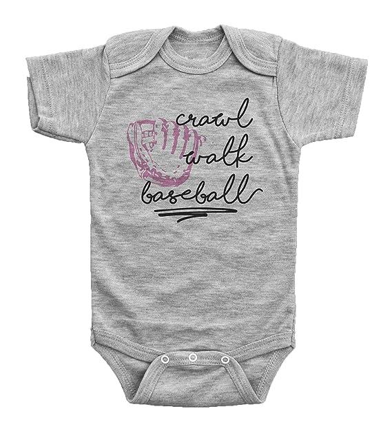 Amazon.com: Niñas Pijama para bebé/gatear Walk/rosa de ...