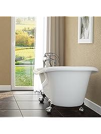 Luxury 60 Inch Clawfoot Tub ...