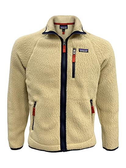 c74e5f39 Amazon.com: Patagonia Men's Retro Pile Fleece Jacket - El Cap Khaki -  XX-Small: Sports & Outdoors