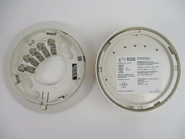 Amazon.com: Sensor de sistema 4W-B - Detector de humo ...