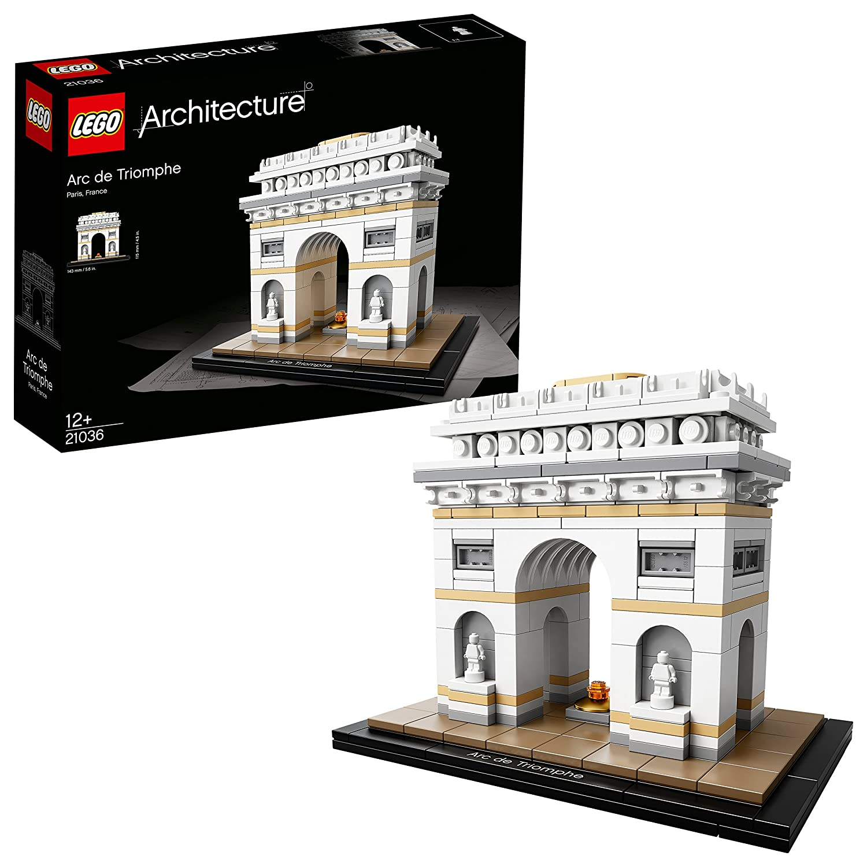 Lego Architecture - Juego de construcción Arco del Triunfo (21036)