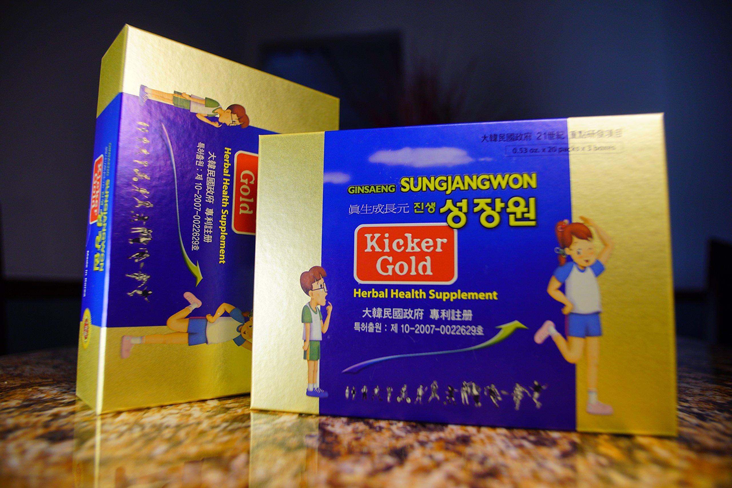 Ginsaeng Sungjangwon Kicker Gold
