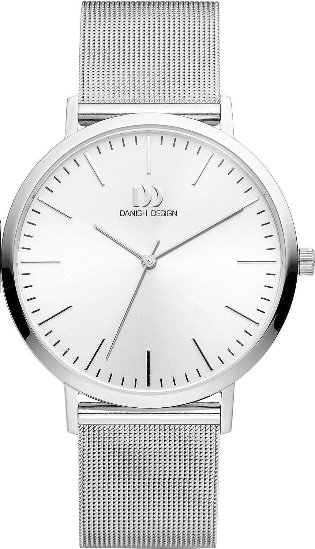 Danish Design Reloj Analogico para Unisex de Cuarzo con Correa en Acero Inoxidable IQ62Q1159