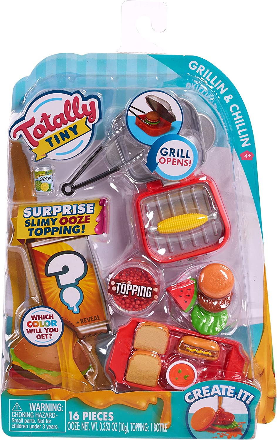 Totally Tiny Deluxe Food Set Grillin & Chillin
