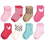 Luvable Friends Baby Basic Socks, Whimsical