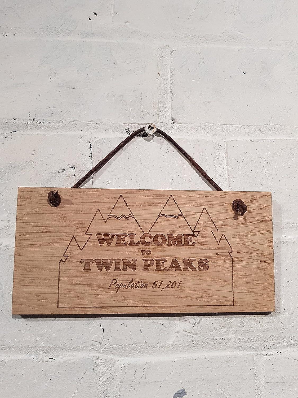 Twin Peaks población 51,201. Regalo ideal para cualquier fan ...