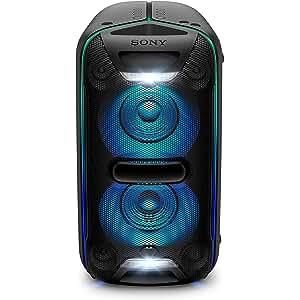 Sony GTK-XB72 - Sistema de Audio de Alta Potencia, Altavoz para Fiesta de Alta Potencia (Extra Bass, Bluetooth, Live Sound, NFC, Luces LED, Efectos de DJ, configuración Vertical y Horizontal) Negro