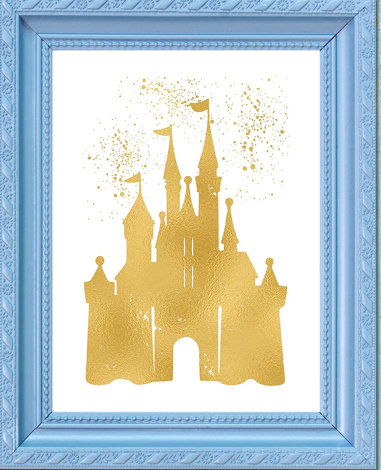 Amazon.com: Inspired by Disney Castle and Home - Poster Print Photo ...