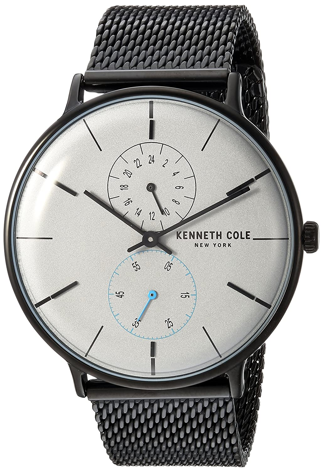 Amazon.com: Kenneth Cole New York Mens Quartz Stainless Steel Casual Watch, Color:Grey (Model: KC15188001): Watches