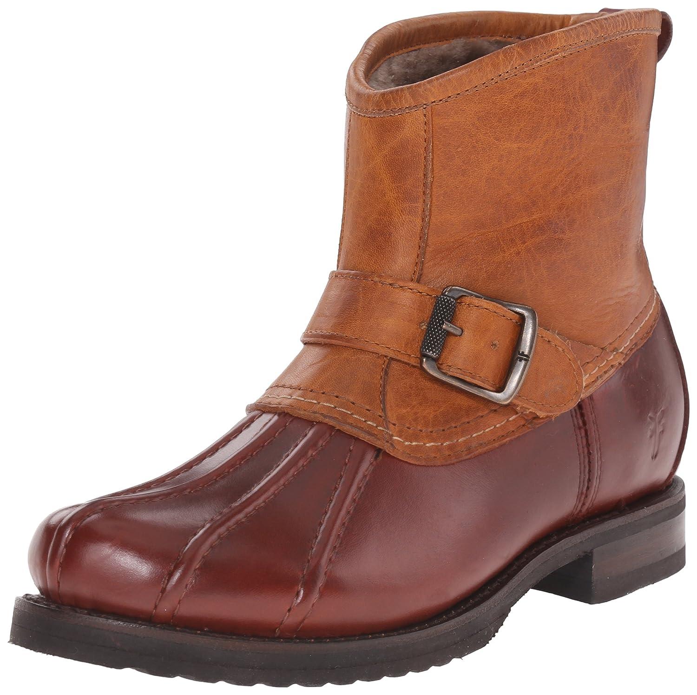 FRYE Women's Veronica Duck Engineer Winter Boot B00TQ7NGB8 7 B(M) US|Cinnamon Multi