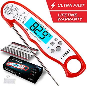Kizen Instant Red Meat Thermometer