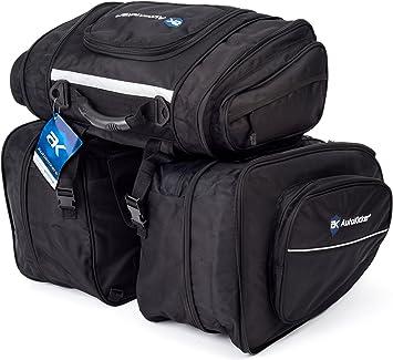 Autokicker Revolve Luggage Saddle Panniers /& Tail Kit  Motorbike and Motorcycles