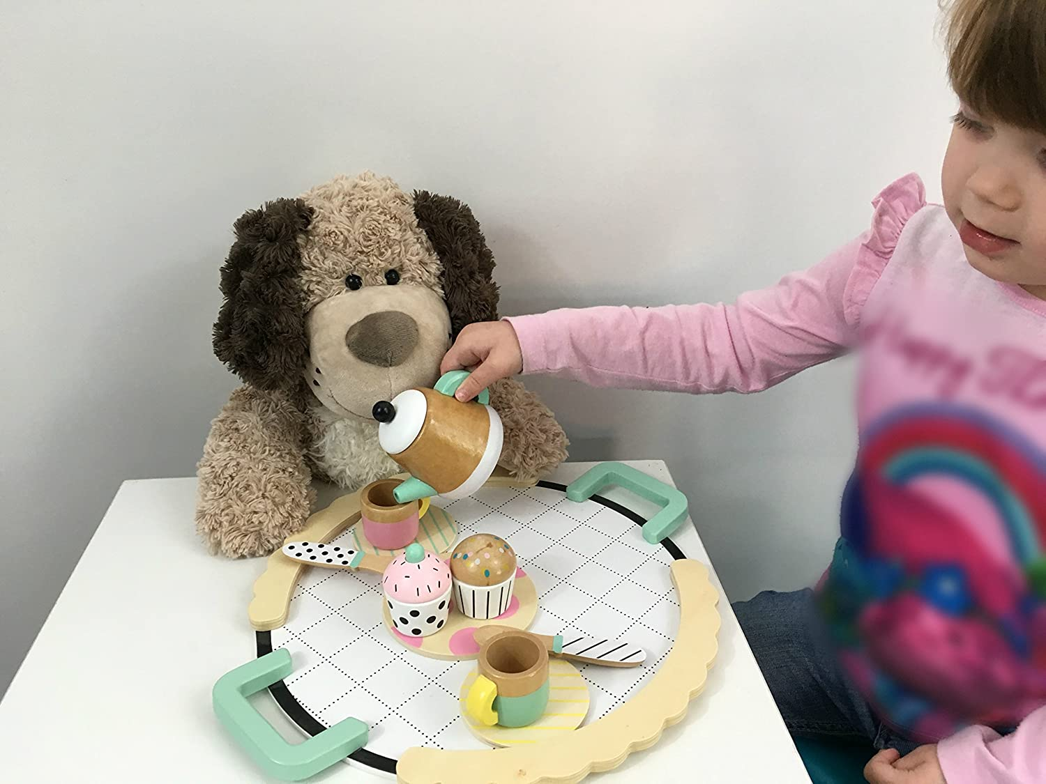 Cutest Stuffed Dog Adorable For Dog Themed Bedroom And Sure To Become Your Kids Best Friend Checkered Fun Soft Cute Brown Puppy Dog Stuffed Animal Dog Plush Toy Softest