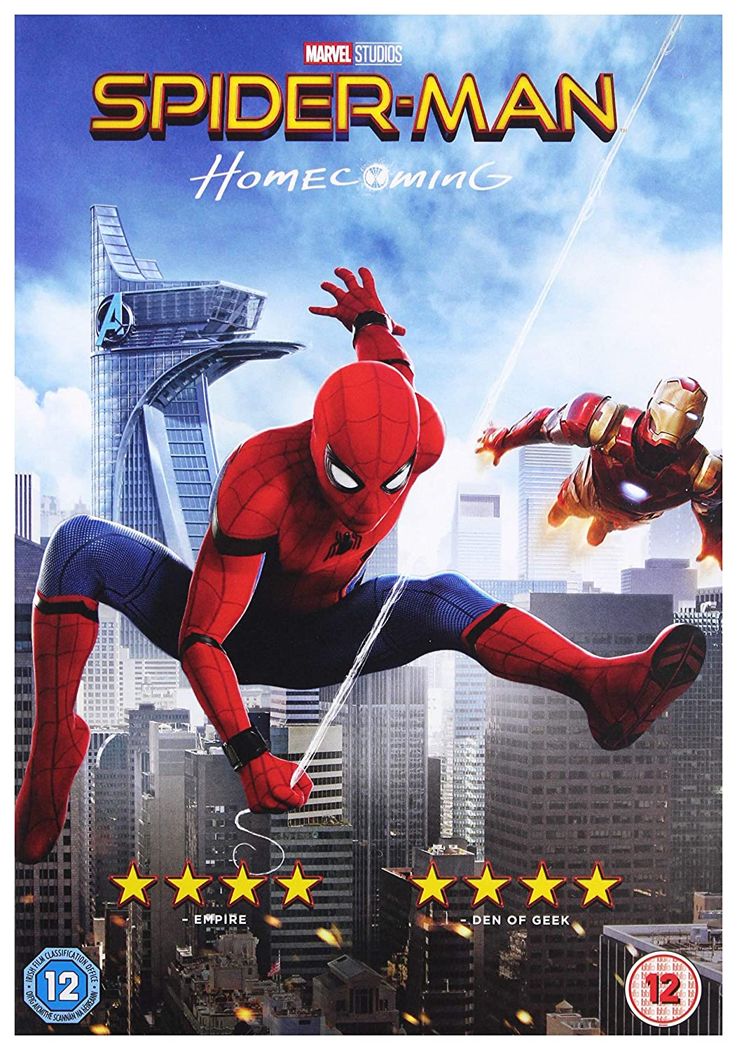 Amazon Com Spider Man Homecoming Dvd 2017 Usa Non Compatible Product Region 2 Movies Tv