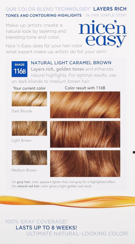 Amazon Com Clairol Nice N Easy Hair Color 116b 6w Light Mocha