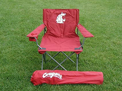 Washington State Cougars Adult Tailgate Sports Chair   NCAA College  Athletics